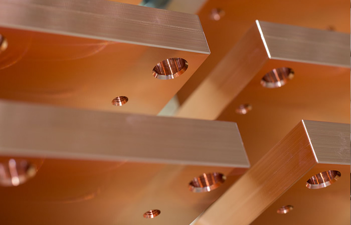 Kupfer Kühlkörper